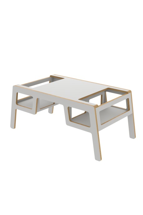 """PLYWOOD TABLE """"DOUBLE FLEX""""  gray"""