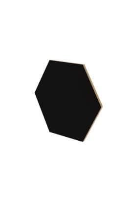 BIG HEXAGON BLACK WALL PANEL