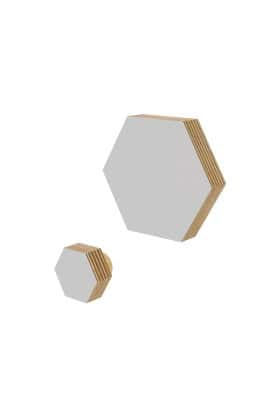 HEXAGON KNOB GRAY