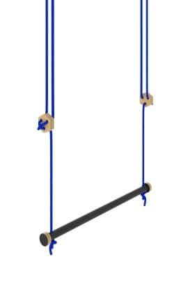 Trapeze swing black