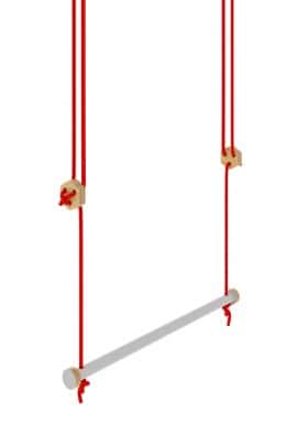 Trapeze swing gray